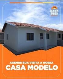 vendo casas no Denison Amorim- casa 3 quartos!