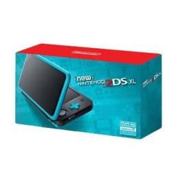 New Nintendo 2DS XL - Azul/Preto