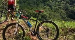 Troco bike em caiaque de pesca