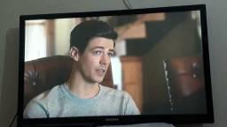 Tv 43' Samsung c/conversor (troco por 32') LEIA