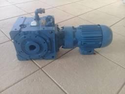 Conjunto Motoredutor 1/12 Motor Weg 1 Cv 1395 Rpm 220/380v