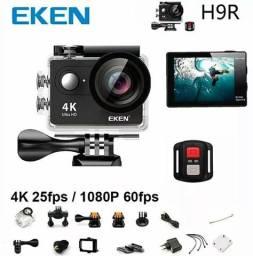 Camera Eken H9r 4k Original Wifi Visor Controle Prova D'agua