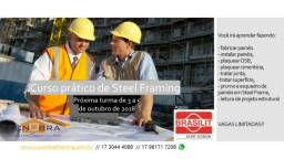 Curso prático de Steel Framing