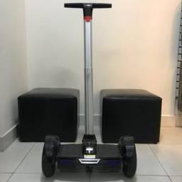 Hoverboard Scooter Elétrico com haste para direção /Bluetooth
