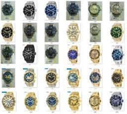 Relógios Invicta Originais 0072 0073 0074 6981 6982 17884 vários modelos garantia 1 ano!!!