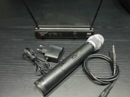 Microfone karsect uhf de mão comprar usado  Maringá