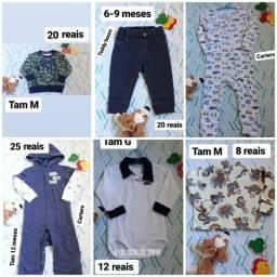 Lote bebê menino 31 peças 6-12 meses