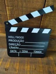Claquete de Decoração Hollywood Retrô