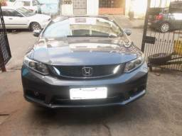 Honda Civic, LXR, 2.0, Cinza, 2014/2015 - Só Telefone ou Zap - 2015