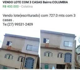 VENDO 03 CASAS COLATINA E.S bairro :COLUMBIA
