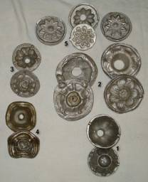 Formas De Velas Artesanais de Aluminio Fundido