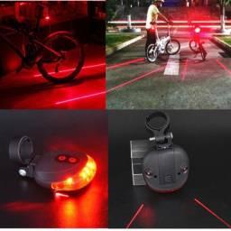 Iluminação de segurança para bicicletas