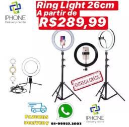 Ring Light 26cm (Entrega Grátis ) 5x sem juros
