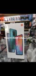 Note 9 4 RAM 128gb novos lacrados originais com garantia de 3 meses