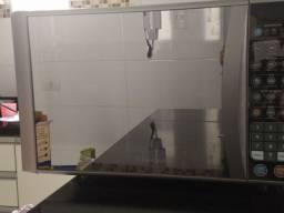 Microondas Inox espelhado 30litros Grill