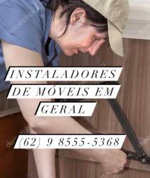 Instalação de guarda-roupas e móveis em geral
