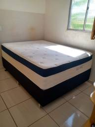 Vendo esse belíssima cama box semi nova