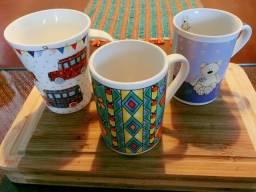 Xícaras e copos