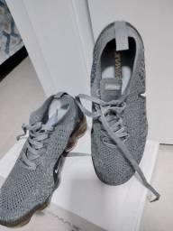 Nike vapor max 41 flyknit cinza aceita troca