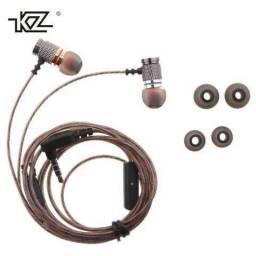 Fone Kz EDR1 c/mic Novo