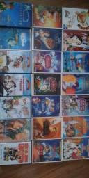Dvds clássicos Disney novos/semi-novos original edição limitada