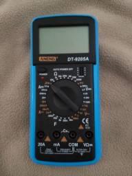 Aneng - Multimetro Digital 9205A Com Capacímetro - Profissional