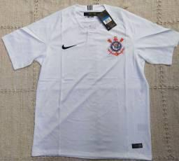 Camisa Do Corinthians Temp 2018 Modelo II Original Importada Entrego