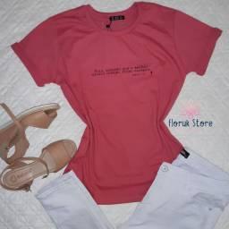 Tshirt algodão