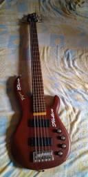 Baixo Tagima muito conservado aceito troca por violão do mesma faixa de preço
