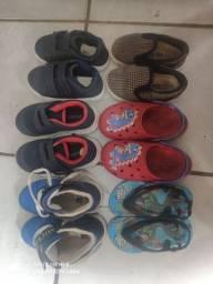 Pra vender hoje 6 pares de calçados primeiro a ligar leva