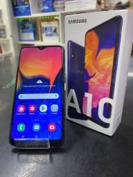 Samsung A10 Azul + Garantia (Perfeito estado)