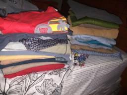 Blusas, blusoes sociais e blusão de manga comprida