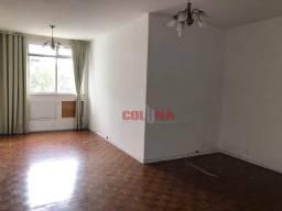 Apartamento com 3 dormitórios para alugar, 115 m² por R$ 2.300/mês - Icaraí - Niterói/RJ