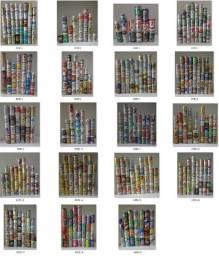 Coleção de 610 Latinhas Antigas Importadas, Brasileiras e Comemorativas