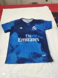 Promoção de camisas de time
