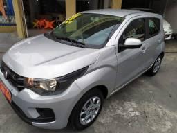 Lindo Fiat Mobi 2018 com GNV 42000km