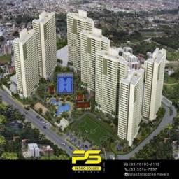 Apartamento com 3 dormitórios à venda, 76 m² por R$ 345.000 - Água Fria - João Pessoa/PB