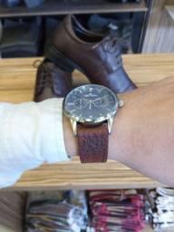 Oferta kit sapato+relógio