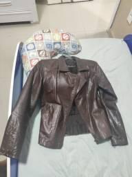 Vendo jaqueta de couro original.