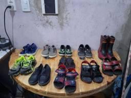 Sapato e sandálias masculina infantil
