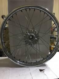 Roda Diant Completa CG125 ES Disco Honda Diafrag