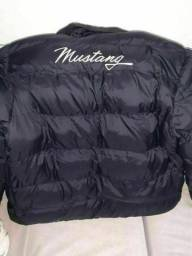 Jaqueta original Mustang Puffer Super Stuff Masculina - Preto. Tamanho G e GG