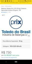 Vende-se balança digital na caixa modelo p3 fit da prix Toledo do Brasil *