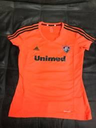 Camisa Fluminense Laranja feminina