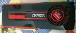 Placa de vídeo hd7950 384bits!! Parruda igual gtx1060