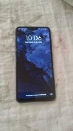 Vendo ou troco Xiaomi mi 8 lite  por celular inferior mais volta em dinheiro pra mim