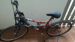 Bicicleta Caloi Terra Aro 26 21 Marchas Mountain Bike Usada