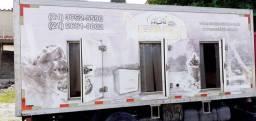 Bau Refrigerado de 5m c 7 portas em ótimo estado