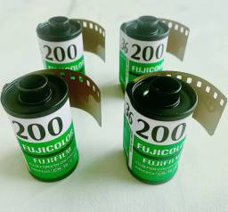4 Filmes Fuji ISO 200 36 poses vencidos