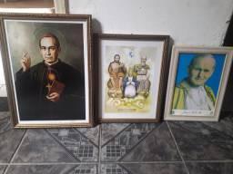 3 quadros catolicos